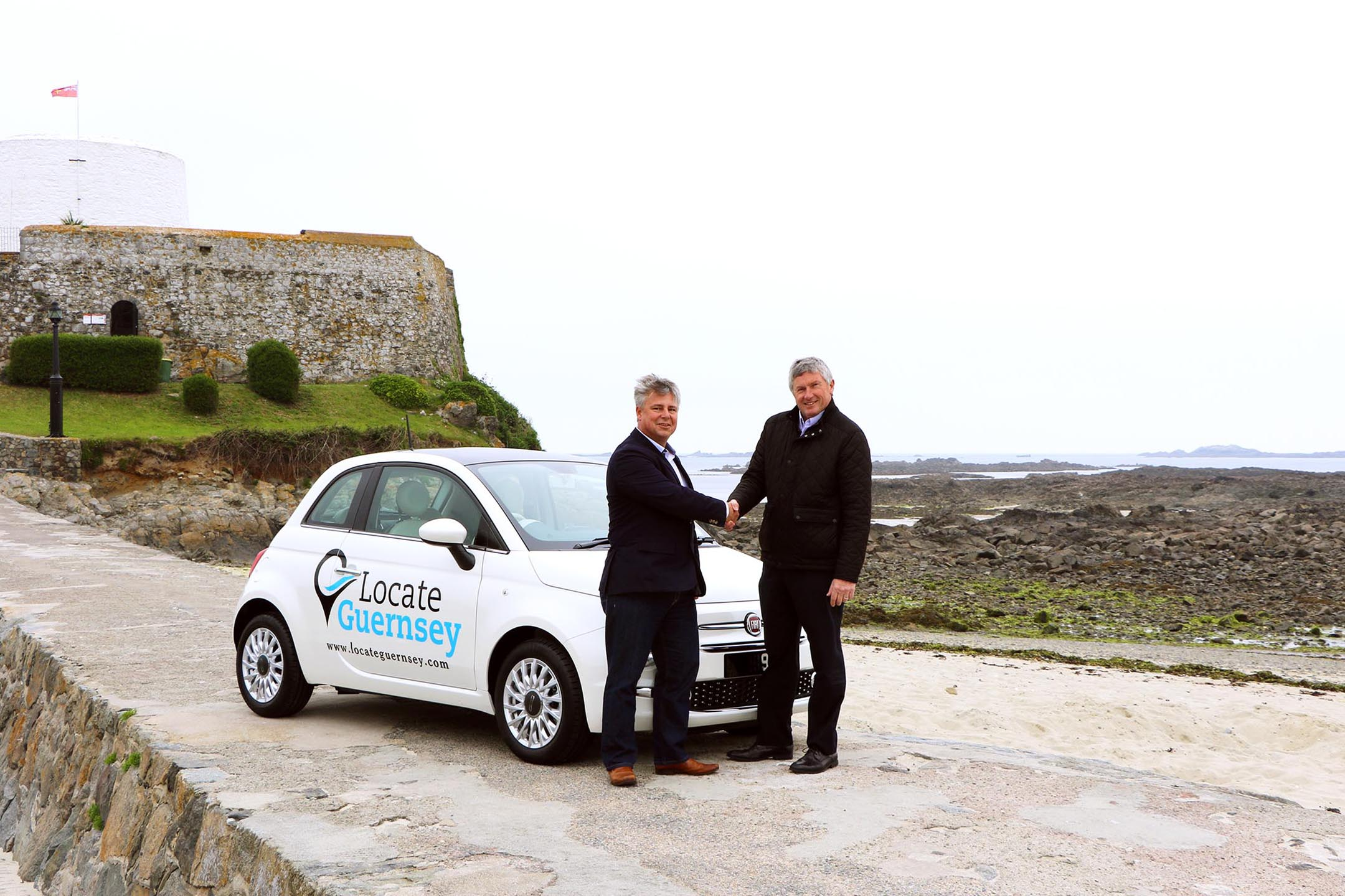 Locate Guernsey provided with company car by Le Mont Saint Garage