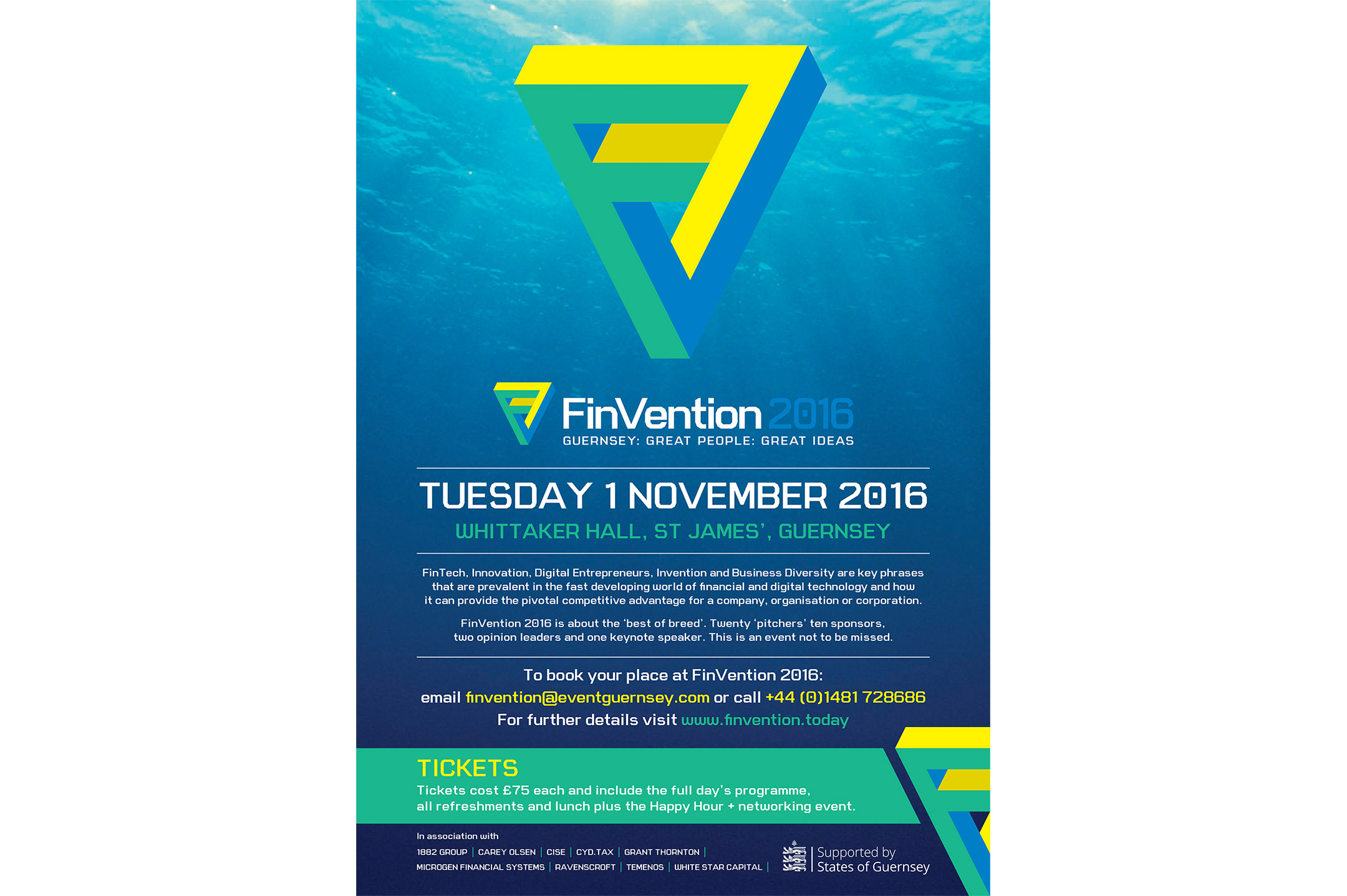 FinVention 2016: Presenting the best of digital and fintech products in Guernsey