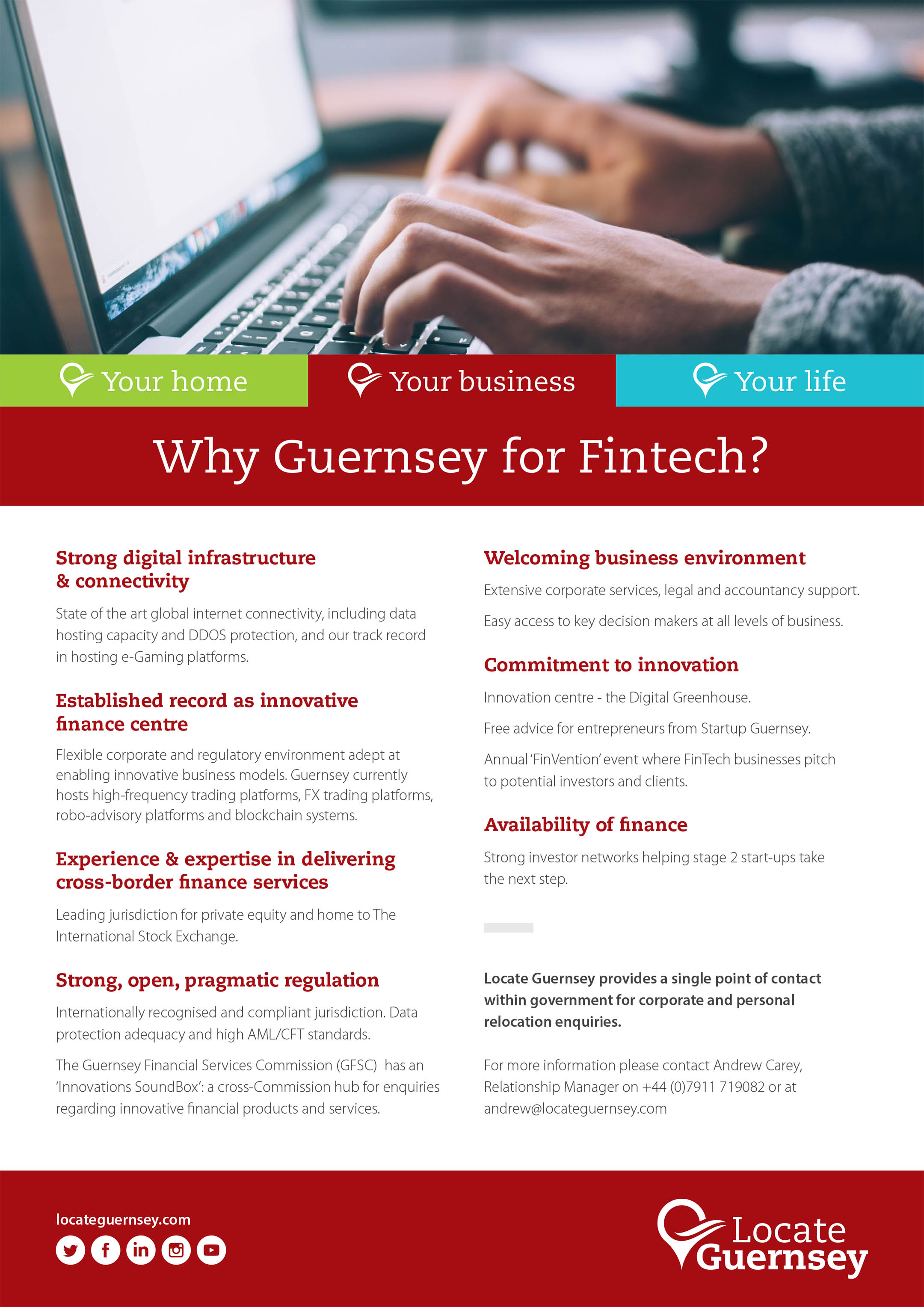 Why Guernsey for FinTech