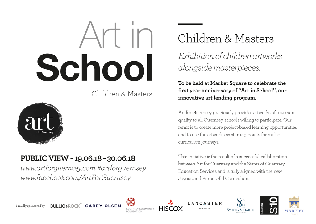 Art for Guernsey Children and Masters